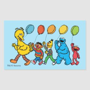 Sesame Street Pals | Party Balloons Rectangular Sticker