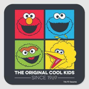 Sesame Street | The Original Cool Kids Square Sticker