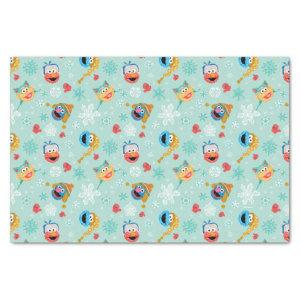 Sesame Street Winter Pattern Tissue Paper