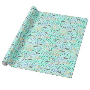 Shark Fun Wrapping Paper
