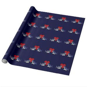 Shark Love Wrapping Paper