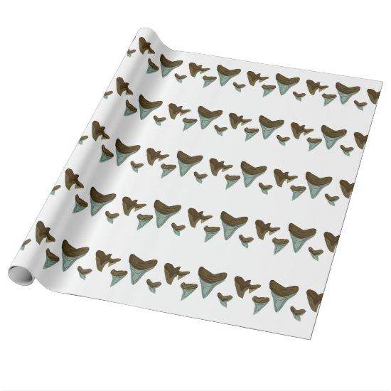 Shark Teeth Wrapping Paper