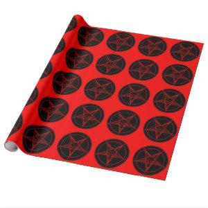 SIGIL of BAPHOMET Wrapping Paper