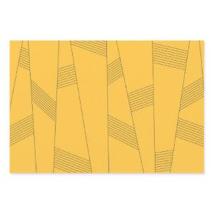 Simple, yellow, modern abstract graphic design wrapping paper sheets