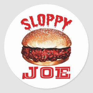 Sloppy Joe Classic Round Sticker