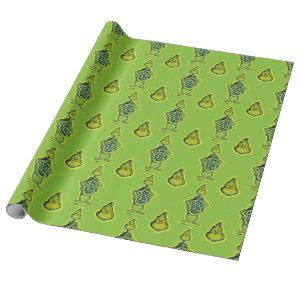Snarky Grinch | Funny I'm Only Talking to My Dog T Wrapping Paper