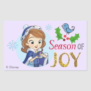 Sofia the First | Season Of Joy Rectangular Sticker
