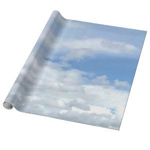 Soft Heavenly Clouds Wrapping Paper