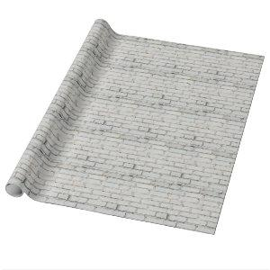 Soft image of a background of gray brick wall wrapping paper
