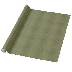 Solid Green Wrapping Paper