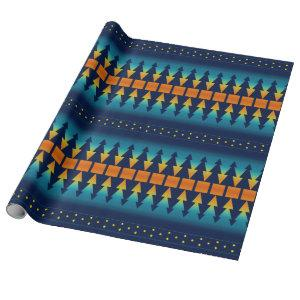 Southwest Sunset Pines Wrapping Paper
