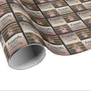 Special Friends Christmas Love Wrapping Paper