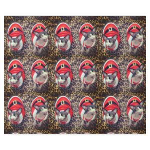 Sphynx Cat Ninja Santa Christmas Wrapping Paper