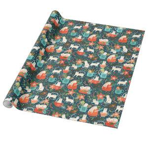 Spicy Kittens Wrapping Paper