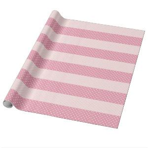 Spring Pink Patterns Wrapping Paper