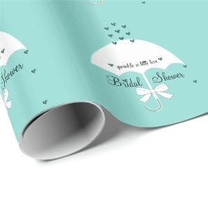 Sprinkle Love Baby Bridal Shower Tiffany Party Wrapping Paper