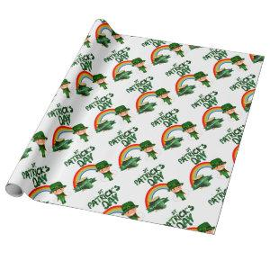 St Patrick's Day gifts Wrapping Paper