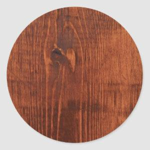 Stained Wood Look Stickers