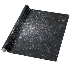 Star Cluster Starry Sky NASA Space Wrapping Paper