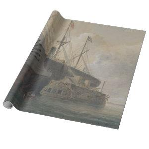 Steam Ship Furniture Decoupage Paper