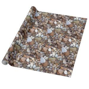 Stones River Rocks Unusual Wrapping Paper