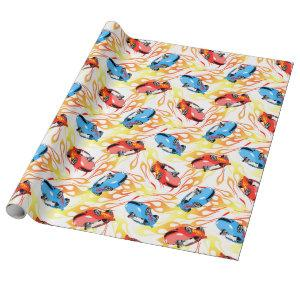 Street racing wrapping paper