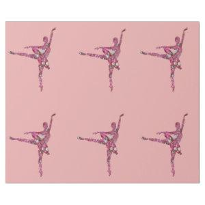 Sugar Plum Fairy Ballerina Wrapping Paper