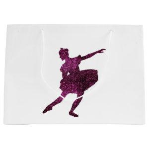 Sugar Plum Fairy double-sided Large Gift Bag