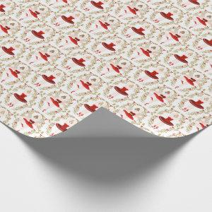 Sugar Plum Fairy Nutcracker Christmas Wrapping Paper