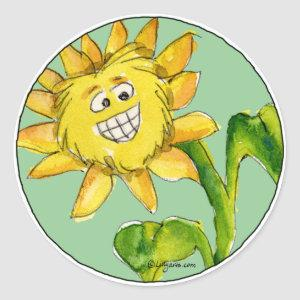 Sunflower Clipart Sticker 7