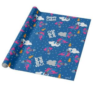 Super Grover 2.0 Night Sky Pattern Wrapping Paper