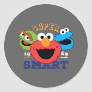 Super Smart Characters Classic Round Sticker