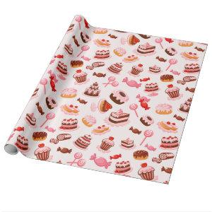 Sweet Dessert Wrapping Paper