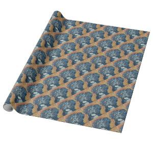 SWEET HAVANESE PUPPY WRAPPING PAPER