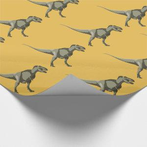 T-rex Dinosaur, Dino Design Wrapping Paper