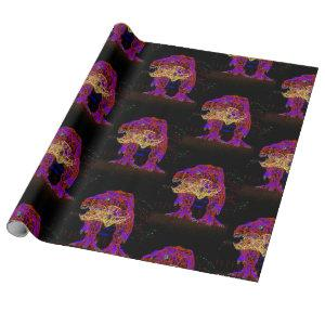 T Rex Wrapping Paper