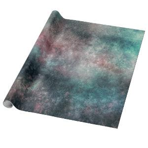 teal and rose clouds