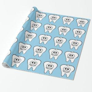 Teeth Wrapping Paper