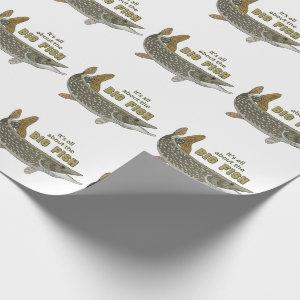The Big Fish Wrapping Paper