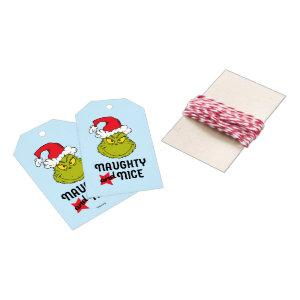 The Grinch | Naughty and Nice Gift Tags