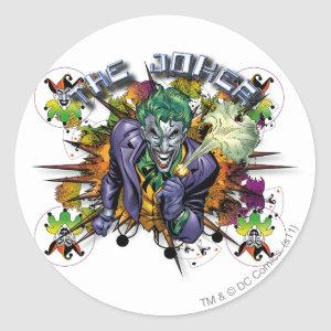 The Joker - Explosion Classic Round Sticker
