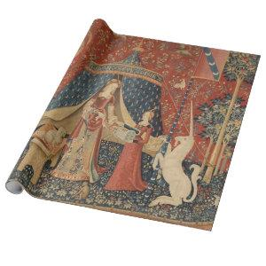 The Lady And The Unicorn Wrapping Paper