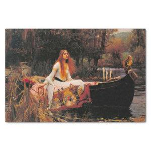 The Lady of Shalott by Waterhouse Decoupage Tissue Paper