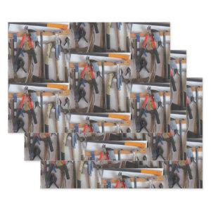 The Man Cave - Tools Tools Tools! All Occasion Wrapping Paper Sheets