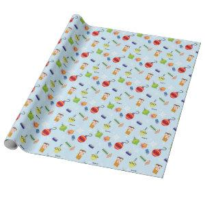 The Muppets | Christmas Holiday Pattern Wrapping Paper