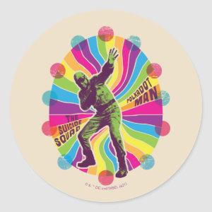The Suicide Squad   Polka-Dot Man Psychedelic Classic Round Sticker