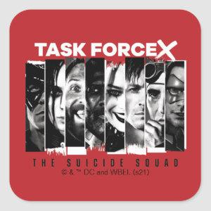 The Suicide Squad   Task Force X Square Sticker