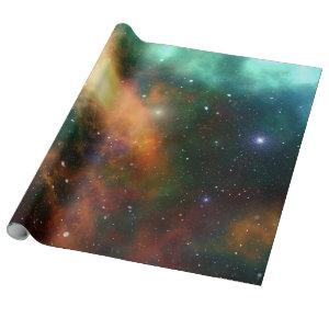 The Universe Starry Sky Outer Space Gift Wrap