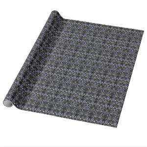 This Is Halloween ~ Haunted Damask Wrapping Paper