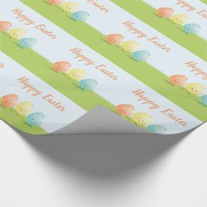 Three Easter Eggs | Wrapping Paper